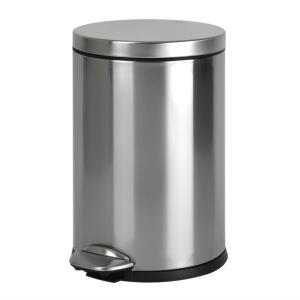 ゴミ箱 ペダル EKO ルナ ステップビン 8L ( ごみ箱 ダストボックス おしゃれ ステンレス シンプル インナー付 洗える )|livingut|03