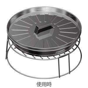 ピザ グリル&ファイヤースタンド バーベキュー 焚き火 ( BBQ 調理用品 バーベキューコンロ )|livingut|02
