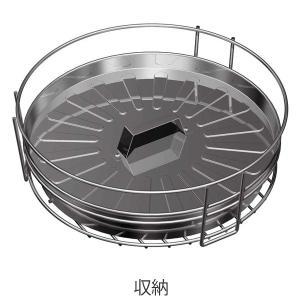 ピザ グリル&ファイヤースタンド バーベキュー 焚き火 ( BBQ 調理用品 バーベキューコンロ )|livingut|03