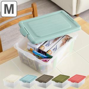 収納ボックス M 幅31×奥行45×高さ19cm A4 おもちゃ箱 収納 フタ付き ( 収納ケース おもちゃ入れ おもちゃ 小物収納 )の写真
