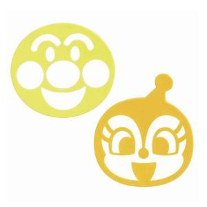 お弁当のご飯の上に、ふりかけなどで、アンパンマンやドキンちゃんの顔がデザインできるふりかけシートです...