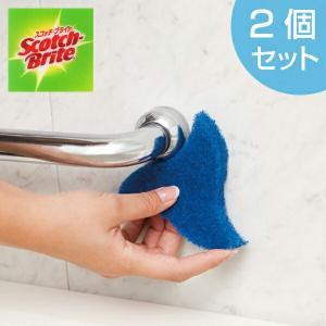 スコッチブライト すみ洗い用スポンジ ( お風呂 浴槽 バス 掃除 清掃 水アカ 水廻り 蛇口 隙間 スキマ )|livingut