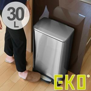 ゴミ箱 ふた付 EKO ネオキューブ ステップピン 30L