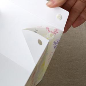 ケーキボックス ケーキ型 フラット 18cm用 フラワー 日本製 ( お菓子 ラッピング デコレーションケーキ 箱 製菓グッズ )|livingut|04