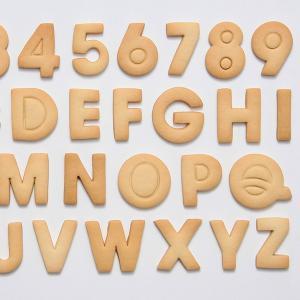 クッキー型 抜き型 アルファベット 数字 36個セット プラスチック製 ( クッキー抜型 クッキーカッター 製菓グッズ 抜型 ) livingut 03