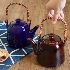 土瓶 900ml コロント 日本製 ( 茶漉し付 陶器 電子レンジ対応 食洗機対応 )|livingut
