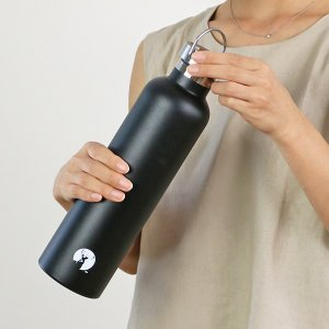 水筒 キャプテンスタッグ HDボトル ステンレス 直飲み 真空二重構造 保温・保冷 1L ( ステンレス 直飲み 保温 保冷 )|livingut|09
