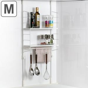 奥行14.5cmのスリムな設計で、キッチンのデッドスペースを収納に出来ます。つっぱりラックなので、工...