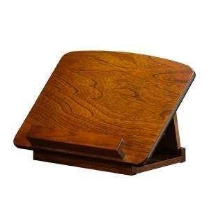 御手本台 木製 折りたたみ式 角度2段階 幅35cm ( 国産 日本製 ブックスタンド )|livingut