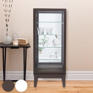 コレクションキャビネット ガラスケース スカーラ1000 幅41cm ( キャビネット コレクション ラック ガラス 収納 シンプル 棚 完成品 ) livingut