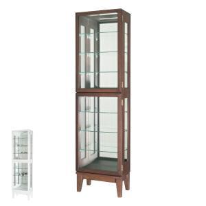 コレクションキャビネット ガラスケース スカーラ1500 幅41cm ( キャビネット コレクション ラック ガラス 収納 シンプル 棚 完成品 )の写真