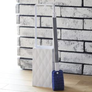 トイレブラシ トイレケース フッ素コーティング 便器ブラシ ( ブラシ トイレ 掃除 )