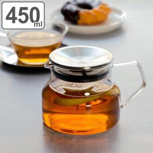 キントー KINTO ティーポット 450ml CAST 耐熱ガラス 洋食器 ( 紅茶ポット 急須 電子レンジ対応 食洗機対応 ポット  )|livingut