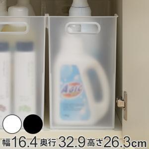 収納ケース 約 幅17×奥行33×高さ27cm ナチュラ ソートボックス M squ+ ( キッチン サニタリー 洗面 クローゼット くつ箱 書類 ファイル ボックス )|livingut