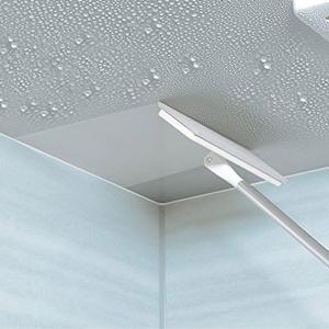 ワイパーはスクレーパーとして使え、天井や壁の水気をぬぐうことでカビの発生を抑えます。長さ78.5cm...