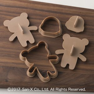 クッキー型 抱っこクッキー型 リラックマ キャラクター 日本製 ( 抱っこ クマ クッキー 抜型 お菓子作り 製菓 型 ) livingut 04