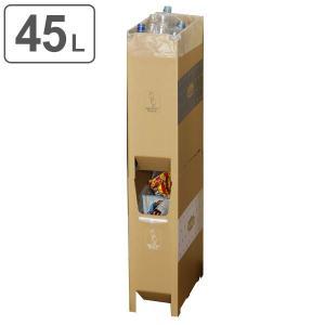 ゴミ箱 2段重ねダンボールダストボックス 45L 日本製