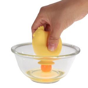 卵の黄身分け