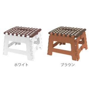 踏み台 セノビー がっしり君 高さ22cm ( おりたたみ 脚立 セノ・ビー )|livingut|02
