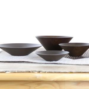 ボウル 15cm ログ スタックボウル 洋食器 樹脂製 日本製 ( 電子レンジ対応 お皿 食洗機対応 食器 皿 器 深皿 木目 木製風 )|livingut|05