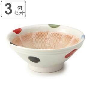 すり鉢 6号 18cm 和食器 陶器 日本製 同柄3個セット ( 食器 ボウル 器 鉢 中鉢 電子レンジ対応 食洗機対応 )|livingut