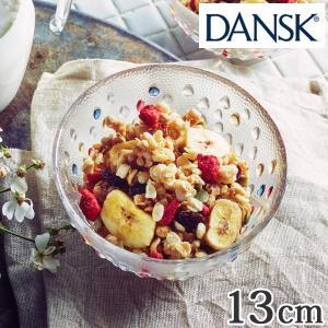ダンスク DANSK バブルコンフェティ フルーツボウル 13cm 洋食器 ( 皿 食器 器 お皿 ガラス ボウル 鉢 おしゃれ )|livingut