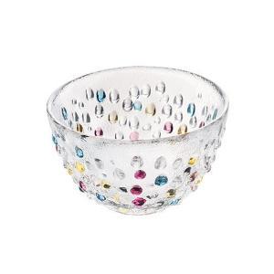 ダンスク DANSK バブルコンフェティ フルーツボウル 13cm 洋食器 ( 皿 食器 器 お皿 ガラス ボウル 鉢 おしゃれ )|livingut|03