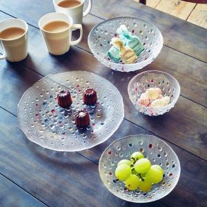 ダンスク DANSK バブルコンフェティ フルーツボウル 13cm 洋食器 ( 皿 食器 器 お皿 ガラス ボウル 鉢 おしゃれ )|livingut|05