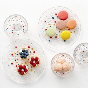 ダンスク DANSK バブルコンフェティ フルーツボウル 13cm 洋食器 ( 皿 食器 器 お皿 ガラス ボウル 鉢 おしゃれ )|livingut|07