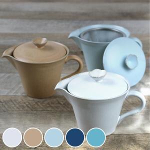 ポット 280ml 花ポット 和食器 陶器 日本製 ( 食器 ティーポット おしゃれ 花 )|livingut