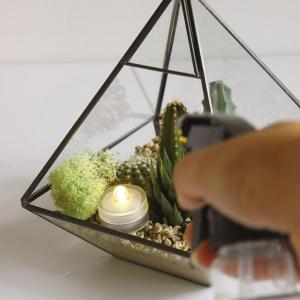 LEDキャンドル キャンドルライト 防水 ウォータープルーフティーライトキャンドル 3個セット ( キャンドル ライト led )|livingut|05