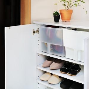 キッチン収納ケース 吊り戸棚ボックスワイド 幅24cm ( 収納ボックス 整理ケース 取っ手付き ) livingut 11
