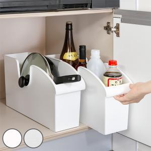 キッチン収納ケース シンクボックスM コロ付き 幅14.5cm