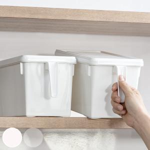 キッチン収納ケース ストックハンドルボックス フタ付き 幅15.7cm