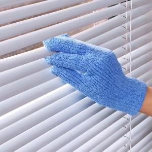 そうじの神様 おそうじ手袋 3つ指タイプ 日本製 ( 床 窓 拭き 掃除 清掃 クリーナー 雑巾 ぞうきん )|livingut|06