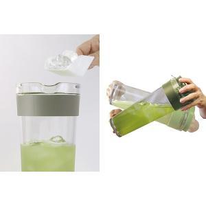 冷水筒 スリムジャグ 1.1L 茶漉し付き 横置き 縦置き 耐熱 茶漉しフィルター 冷茶 日本製 ( ピッチャー 茶こし 麦茶 冷水ポット 麦茶ポット )|livingut|06