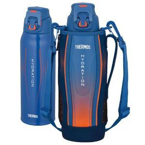 水筒 サーモス(thermos) 真空断熱スポーツボトル FFZ-1002F 1L ( ステンレスボトル 直飲み ポーチ付き )|livingut|07