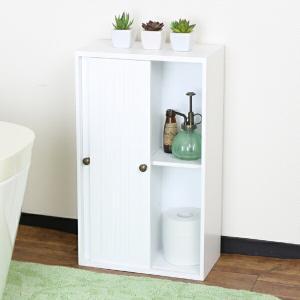 トイレ収納 引き戸式スリムトイレラック 幅32cm
