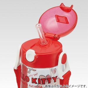 水筒 ストロー プラスチック ワンプッシュボトル 480ml 子供 キャラクター 軽量 ( プラスチック製 ストローボトル 幼稚園 保育園 キッズ )|livingut|06