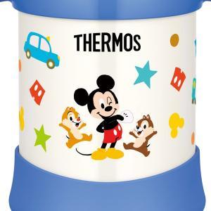 子供用水筒 サーモス thermos 真空断熱ベビーストローマグ ミッキー 250ml FHV-250DS ステンレス製 ( ステンレスマグ ストロー付 トレーニングマグ )|livingut|03