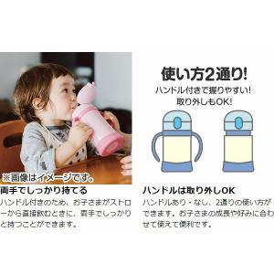 子供用水筒 サーモス thermos 真空断熱ベビーストローマグ ミッキー 250ml FHV-250DS ステンレス製 ( ステンレスマグ ストロー付 トレーニングマグ )|livingut|05