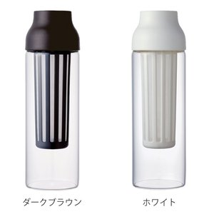キントー KINTO 冷水筒 ピッチャー 耐熱 1L ガラス CAPSULE カプセル コールドブリュー 水差し  ( フィルター付き 食洗機対応 電子レンジ対応  )|livingut|03