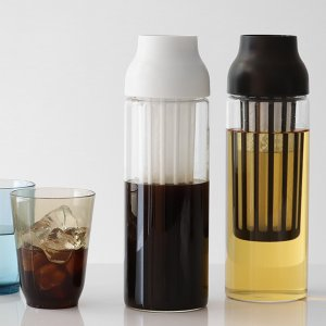 キントー KINTO 冷水筒 ピッチャー 耐熱 1L ガラス CAPSULE カプセル コールドブリュー 水差し  ( フィルター付き 食洗機対応 電子レンジ対応  )|livingut|06