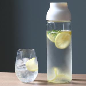キントー KINTO 冷水筒 ピッチャー 耐熱 1L ガラス CAPSULE カプセル コールドブリュー 水差し  ( フィルター付き 食洗機対応 電子レンジ対応  )|livingut|07