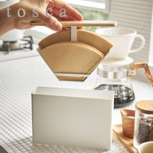 紙フィルターケース コーヒーペーパーフィルターケース トスカ tosca