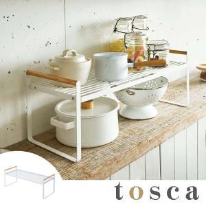 キッチンラック キッチン収納棚 トスカ tosca スチール製 幅60cm ( シンク上収納 シンク下収納 カウンター上収納 ) livingut