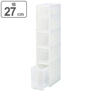キッチン隙間収納 スキピタストッカー ワイド 5段 S-131W 幅27×奥行45×高さ140cm ...