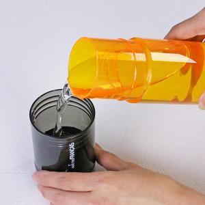 水筒 ウォーターボトル トライタンボトル 500ml 2WAY コップ付き ( 直飲み水筒 ワンタッチオープン クリアボトル )|livingut|04