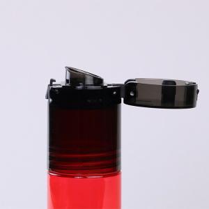 水筒 ウォーターボトル トライタンボトル 500ml 2WAY コップ付き ( 直飲み水筒 ワンタッチオープン クリアボトル )|livingut|06