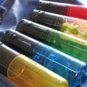 水筒 ウォーターボトル トライタンボトル 500ml 2WAY コップ付き ( 直飲み水筒 ワンタッチオープン クリアボトル )|livingut|09